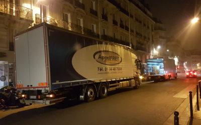 Livraison Paris de nuit